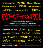 Front cover picture of the Out-of-Control book for recovery from self-defeating coping addictions